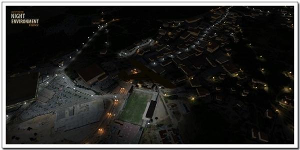 AEROSOFT - Night Environment - Francia
