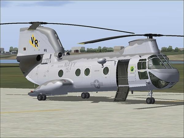 VIRTAVIA - CH-46 Sea Knight
