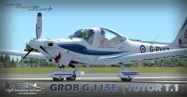 IRIS PRO TRAINING SERIES - Grob G115e / Tutor T.1