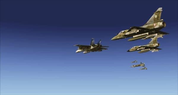 METAL2MESH - Mirage 2000-C