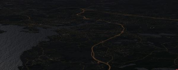 AEROSOFT - Night Environment - Massachusetts