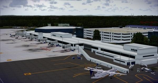 FSIMSTUDIOS - Portland Jetport