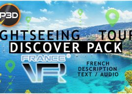 FranceVFR – Discover Pack per un bellissimo Tour panoramico