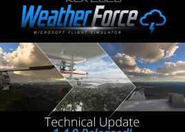 REX – Weather Force 2020 MSFS Technical Update 1.4